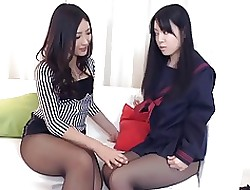 lesbians in pantyhose movies