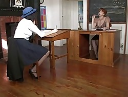 lesbian teacher seduces student