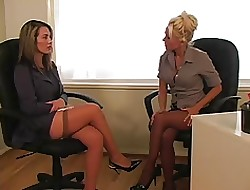 lesbian office seductions movies
